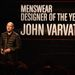 Megválasztották külön az év férfiruha-tervezőjét is, ő a nálunk kevéssé ismert John Varvatos, aki mintha mégis magyar Attilában érkezett volna...
