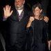 Bruce Weber fotós és neje, Nan Bush az 1990-es divathéten New Yorkban.