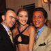 Valentino és vendégei az 1995-ös Couture Shown.