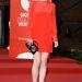 Nagyon hasonló szettben érkezett a vetítésre Michelle Dockery, a Downton Abbey Lady Mary-jét játszó brit színésznő is.