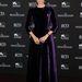 Diane Kruger a Jaeger-LeCoultre gálavacsorájára ment talpig bársonyban, az estélyi tervezője az olasz Alberta Ferretti.