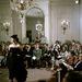 Kifutó nélküli Dior Show az ötvenes években: ki is gáncsolhatták volna a modelleket...