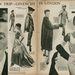 Összefoglaló a Givenchy kollekcióról egy 1955-ös divatlapban.