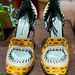Ezt a cipőt egyértelműen a hatvanas évek egyik ikona, Peggy Moffitt ihlette.