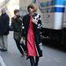 2013. február 14. - Calvin Klein őszi/téli kollekciójának bemutatója a New York-i divathéten