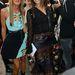 Sztárdivatszerkesztők a Dior bemutatón: Carine Roitfeld és Anna Dello Russo.