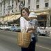 Jane Birkin és lánya, Charlotte Gainsbourg Nizzában, 1972-ben