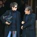 Jane Birkin és Alain Souchon 2009 márciusában Párizsban. A színésznő tudja viselni a róla elnevezett táskát.