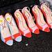 Színes cipők Dennis Bassotól.