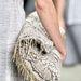 Összecsukható  Calvin Klein táska kígyóbőrből.
