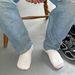8. típus - Pasik felemás zoknival.