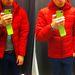 Ez már a Tatuum, a 28 ezres kabát, amiben nagy meglepetésünkre - ennyi pénzért - toll és pihe van.
