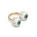 Vehet mellé még egy gyűrűt is, drágábban, mint maga a cipő, a Lazy Oafnál ugyanis 12500 forintot kóstál a szemes gyűrű.