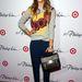 Jessica Alba tetőtől-talpig Philip Lim x Target ruhákban 2013 őszén.