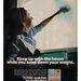 A Total 1970-es müzli reklámjából az a következtetés vonható le, hogy az ablakot pucoló nőnek a termékben található életerőre van szüksége, ahhoz fizikai munkát tudjon végezni, miközben ügyel a súlyára is.