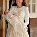 Katalin hercegné Alexander McQueen szettben vitte megkeresztelni fiát.