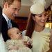 A hercegné, Vilmos herceg és a 3 hónapos György herceg.