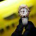 A 29500 eurós, azaz 8,7 millió forintos, gyémántokkal kirakott női óra.