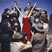 Igen, a vörösruhás nő tényleg Kate Moss, csak éppen 20 évvel ezelőtt.