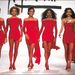 1991-ben a párizsi divathéten taroltak a vörös miniruhák.