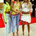 Így jártak díjátadókra is a hírességek 2003-ban. Az azóta elfeledett 3LV tagjai az Annual Soul Train Music Awards-on.
