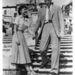 Audrey Hepburn és Gregory Peck a Római vakákcióban 1953-ban.