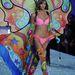 Karlie Kloss pszichedelikus pillangóként