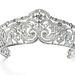 Az 5,5 cm-s gyémánt tiara Erzsébet belga királynőnek készült 1910-ben.