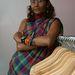 A fejlődő országból származó Bibi Russel elsősorban modellként és divattervezőként vált ismertté.