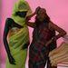 Bibi Russel és egy modellje turbánnal.