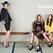 A negyedik ikszet betöltő Stella Tennant és kamaszkorú modellek a Chanelnél.