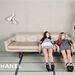 Lagerfeld új üdvöskéi Ondria Hardin és Yumi Lambert.