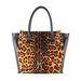 A Gion leopárd mintás táskájáért 59.990 forintot kell otthagyni az üzletben.