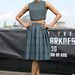 Zoe Saldana a Star Trek berlini premierjén Calvin Kleinben.
