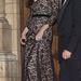 Katalin hercegné Temperley London ruhában.