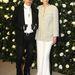 Karl Lagerfeld és Tilda Swinton novemberben New Yorkban.