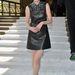 Michelle Dockery a párizsi sivathéten, a Miu Miu bemutató előtt.