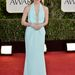 Jessica Chastain a Golden Globe-on Calvin Kleinben