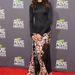Zoe Saldana az MTV Movie Awards-on, Givenchyban.