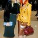 Sienna Miller és Paloma Faith a Burberry 2014-es tavaszi-nyári bemutatójára érkeztek.