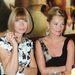 Anna Wintourral 2009-ben Londonban ültették őket egy asztalhoz.