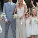 Az esküvő 2011 július elsején volt.Moss John Galliano ruhában mondta ki a boldogító igent.