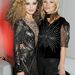 Mick Jagger lányával, a szintén modell Georgia May Jaggerrel a Rimmel év végi partiján 2013-ban.