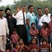 A házaspár Indiába látogatott 2010 novemberében.