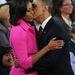 Michelle és Barack Obama 2012 októberében.