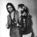 Barbra Streisand és akkori barátja, Jon Peters éppen Elton John bulijáról távozik. A kép 1974 októberében készült.