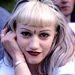 Gwen Stefani 1996-ban gyakran volt látható efféle sminkkel.