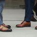 A duplacsatos bőrcipő igazi alapdarab.