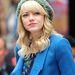 Emma Stone hajszínéhez választott sapkát.