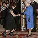 A királynővel is kezet foghatott.